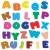 primavera · verão · alfabeto · conjunto · cartas · colorido - foto stock © lirch
