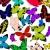 moderna · mariposas · textura · luz · diseno - foto stock © lirch