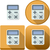 калькулятор · икона · Pack · иконки · android · бизнеса - Сток-фото © LironPeer