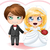 bride and groom getting married stock photo © lironpeer