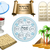 páscoa · símbolos · empacotar · objetos · férias · árvore - foto stock © LironPeer
