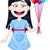 Girl Holding Colorful Balloons stock photo © LironPeer