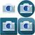 vector · vierkante · retro · camera · icon · gedetailleerd - stockfoto © lironpeer