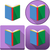 Colorful Book Icon Pack stock photo © LironPeer