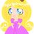 cute · princess · mały · japoński · anime · stylu - zdjęcia stock © lironpeer