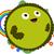 счастливым · зеленый · планеты · радуга · Cute · цветы - Сток-фото © LironPeer