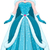 nieve · princesa · azul · vestido · capa · reina - foto stock © LironPeer