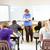учитель · студент · Math · школы - Сток-фото © lisafx