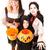 genç · kardeş · kardeş · halloween · kostüm · hazır - stok fotoğraf © lisafx