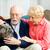 пожилого · человека · женщину · собака · терапии · ПЭТ - Сток-фото © lisafx