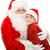 bonitinho · menino · grande · natal · apresentar · pequeno - foto stock © lisafx