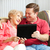 teaching mom the tablet pc stock photo © lisafx