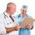doktor · danışman · grafik · adam · sağlık · hastane - stok fotoğraf © lisafx