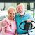 active seniors in golf cart stock photo © lisafx