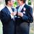 casal · casamento · bolos · tabela - foto stock © lisafx