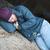 бездомным · человека · картона · знак - Сток-фото © lisafx