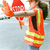 female worker directs traffic stock photo © lisafx