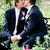 ślub · para · całując · Afryki · człowiek - zdjęcia stock © lisafx