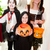 three children   trick or treat stock photo © lisafx