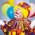 печально · клоуна · женщину · музыку · лице - Сток-фото © lisafx