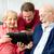 enseignement · supérieurs · parents · fils · âgées - photo stock © lisafx