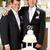 casamento · gay · pétalas · homossexual · casamento · casal · pétalas · de · rosa - foto stock © lisafx