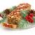 holiday fruit cake isolated on white stock photo © lisafx