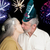 fuochi · d'artificio · bacio · silhouette · bacio · Coppia · enorme - foto d'archivio © lisafx