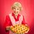 felső · házi · készítésű · cseresznyés · pite · közelkép · kezek · sütő - stock fotó © lisafx