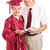 senior lady and spouse celebrate her graduation stock photo © lisafx