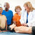 first aid cpr class for adults stock photo © lisafx