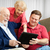 family using tablet pc stock photo © lisafx