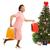 Noel · pazarlık · müşteri · güzel · kadın - stok fotoğraf © lisafx