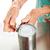senior · mulher · dor · abrir · lata · mãos - foto stock © lisafx