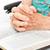 старые · рук · молиться · стороны · человека · Иисус - Сток-фото © lisafx
