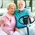 senior couple drives golf cart stock photo © lisafx