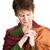 женщину · духовность · портрет · католический · монахиня · молиться - Сток-фото © lisafx