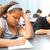 test · studente · riempimento · fuori · risposte - foto d'archivio © lisafx