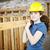 建設作業員 · レンガ · ワーカー · ギア · 着用 - ストックフォト © lisafx