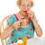 старший · коляске · таблетки · пространстве · пожилого · смеяться - Сток-фото © lisafx