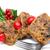 sliced christmas fruitcake stock photo © lisafx