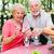 starszy · człowiek · kobieta · starych · para · piknik · starszych - zdjęcia stock © lisafx