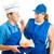 teen · baan · baas · tienermeisje · werken · fast · food - stockfoto © lisafx