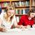 lányok · ír · házi · feladat · iskolás · lányok · együtt · testmozgás - stock fotó © lisafx