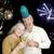 świętować · nowego · rok · piękna · starszy · para - zdjęcia stock © lisafx