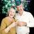 strony · nowego · rok · fajerwerków · starszy · para - zdjęcia stock © lisafx