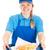 официантка · еды · быстрого · питания · вниз · нездоровый · жареный - Сток-фото © lisafx