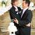 wedding reception for gay couple stock photo © lisafx