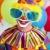 歳の誕生日 · ピエロ · 驚き · お誕生日おめでとうございます · 風船 · 手をつない - ストックフォト © lisafx