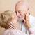 Moment of Tenderness - Senior Couple stock photo © lisafx
